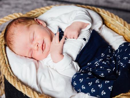 Baby Fynn zu Besuch