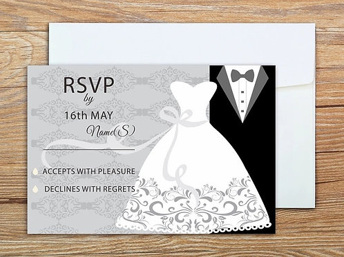 Mr and Mrs RSVP