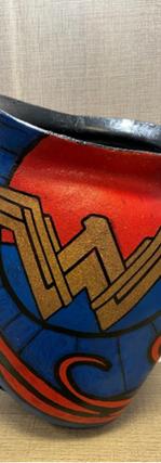Hip Disarticulation Custom Painted Superhero Socket