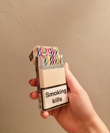 Smoking Kills, January 2019.