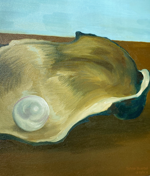 How does a pearl form? - detail