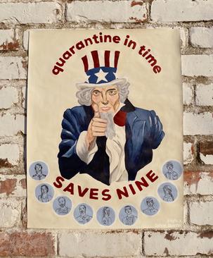 Quarantine in Time SAVES NINE, April 2020