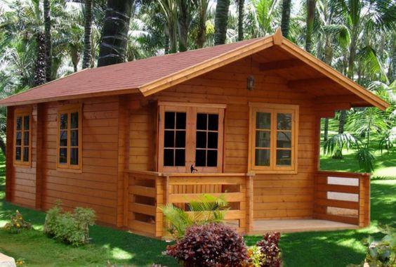 casa de madera bungalow remodelacion