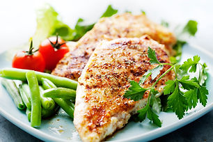 Poached Chicken Breasts