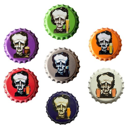 Bottle Cap Magnets, 7 for $10