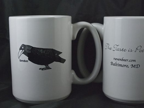 15 oz. Coffee Mug w/ Raven
