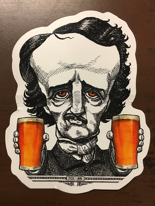 Two-Fisted Poe Sticker