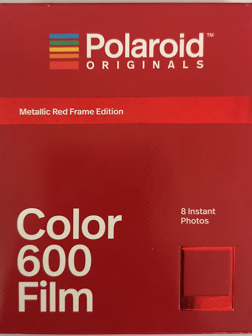 Metalic Red Frame Edition - COLOR 600 FILM