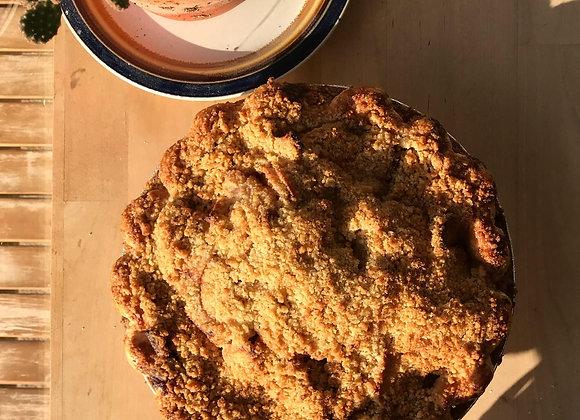 Sweet Cream Apple Pie