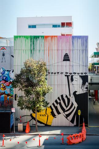 Be Free Mural
