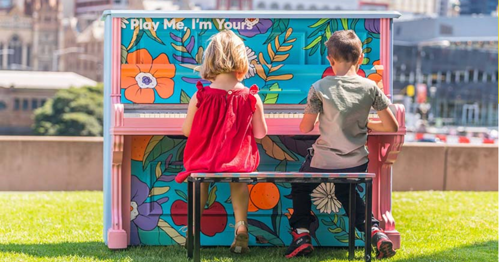 Play Me I'm Yours - with Arts Centre Melbourne