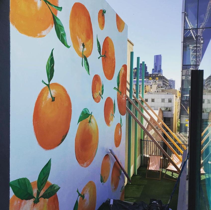 Painting Oranges