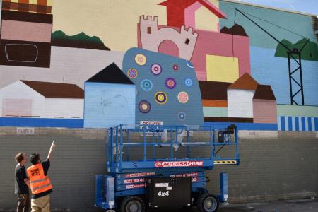 Big Picture Festival Mural, Frankston, 2019
