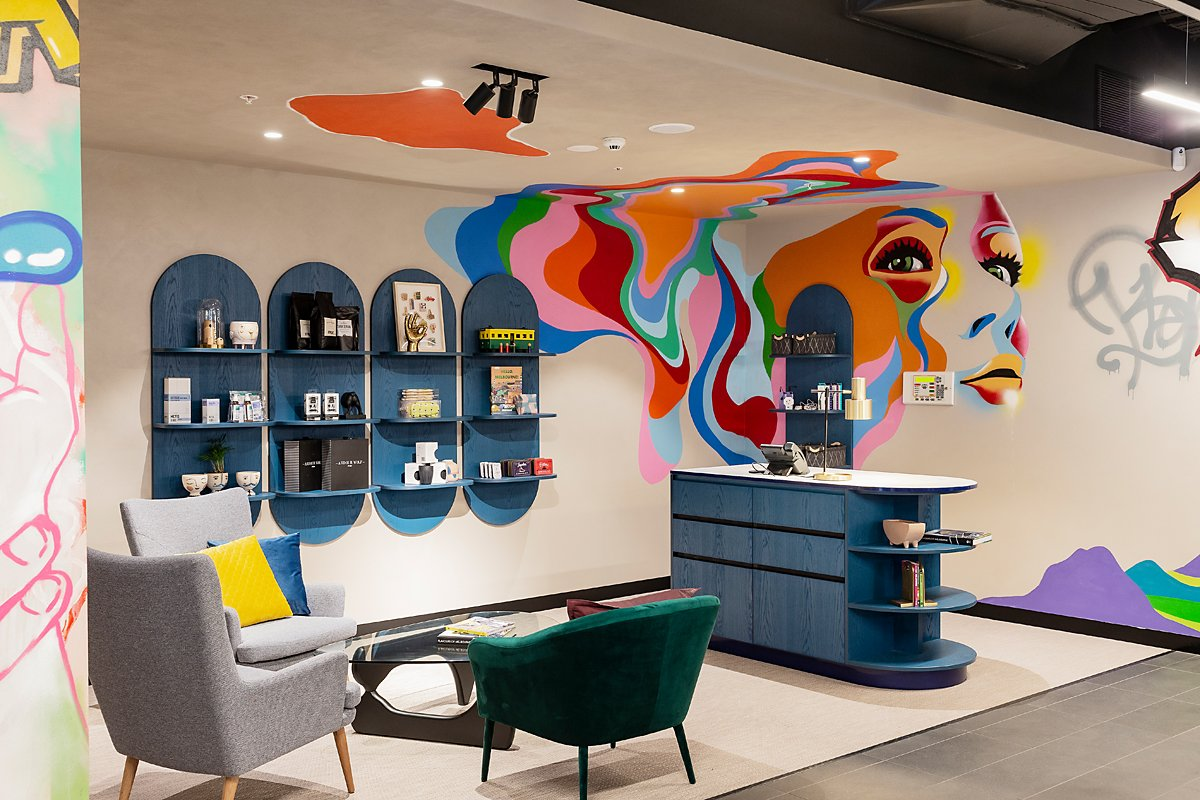Ink Hotel - Reception