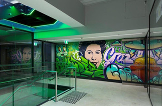 385 Bourke Street - Eleven Office Murals