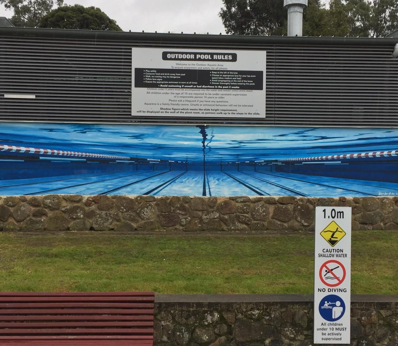 Aquacentre Mural