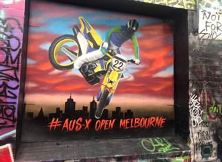 AUS - X Open Tour & Mural