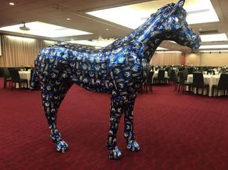 CUB Horse Sculpture