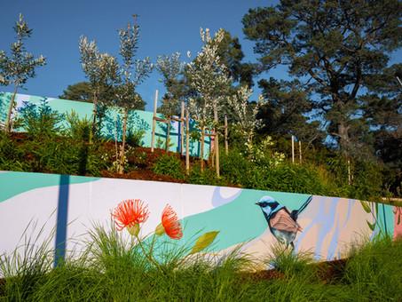 Native Flora and Fauna, Nunawading Community Hub, 2021