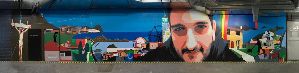 Docklands Mural | 2013