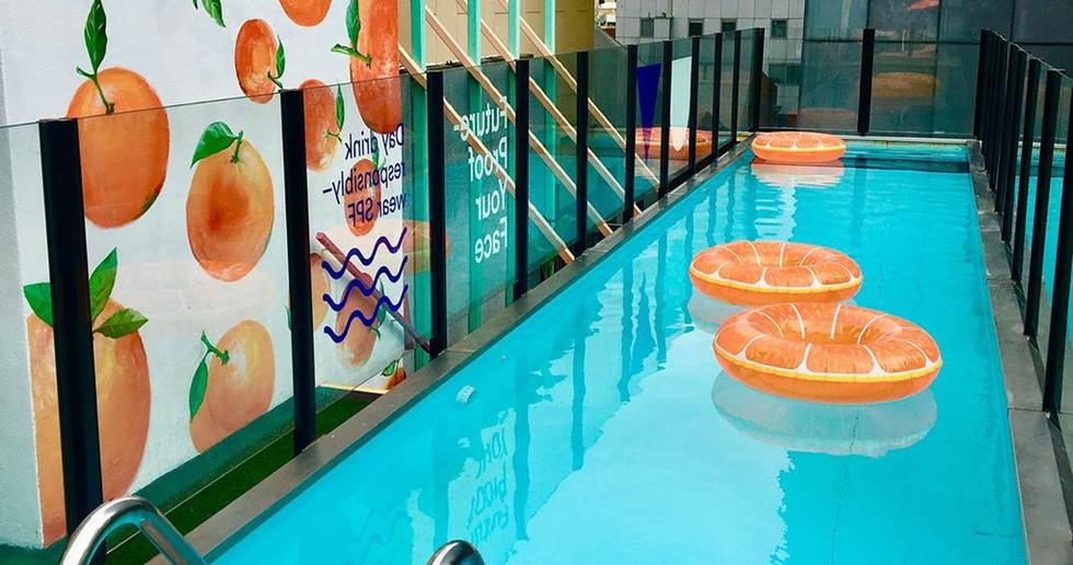 Oranges - Adelphi Hotel Melbourne, 2019