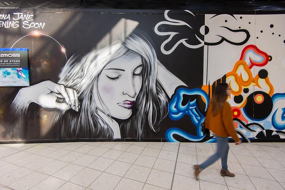 Blender Street Art Mural