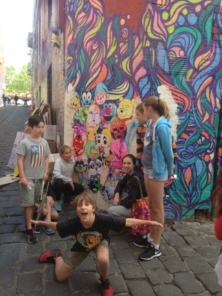Street Art for Youngsters!
