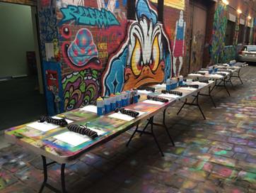 Melbourne Street Tours Workshop