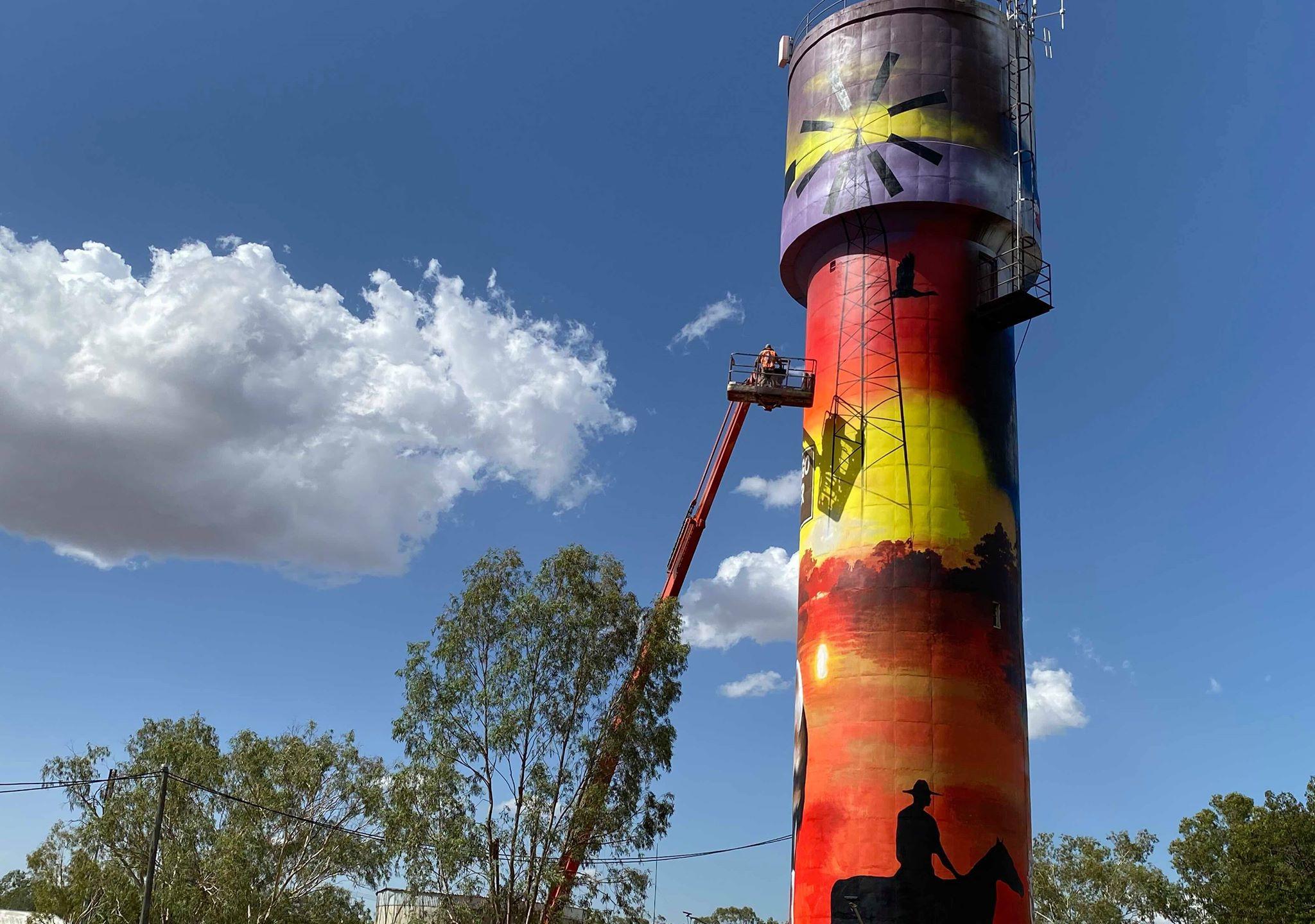 Augathella Water Tower