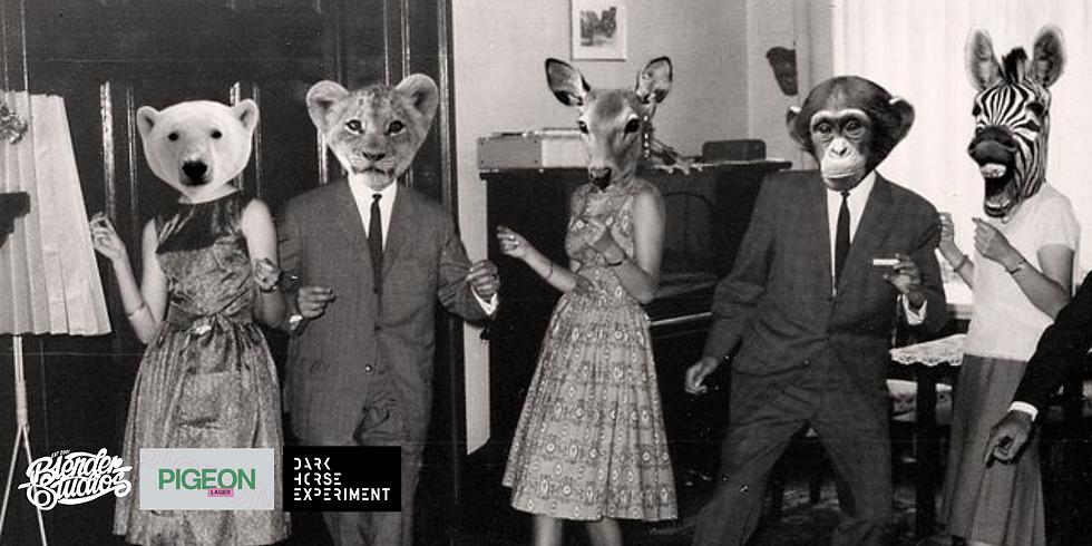 Blender Mask'uerade Party