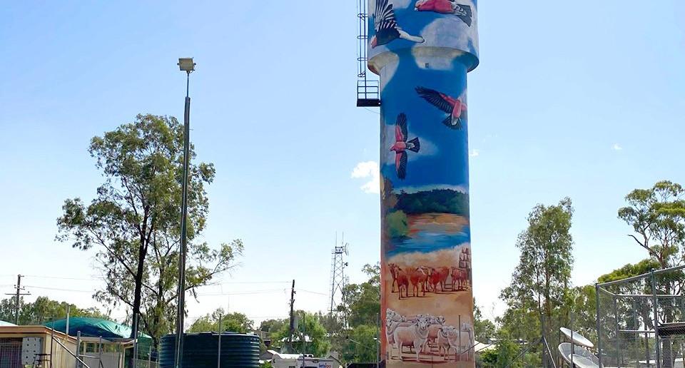 Augathella Water Tower - QLD, 2020