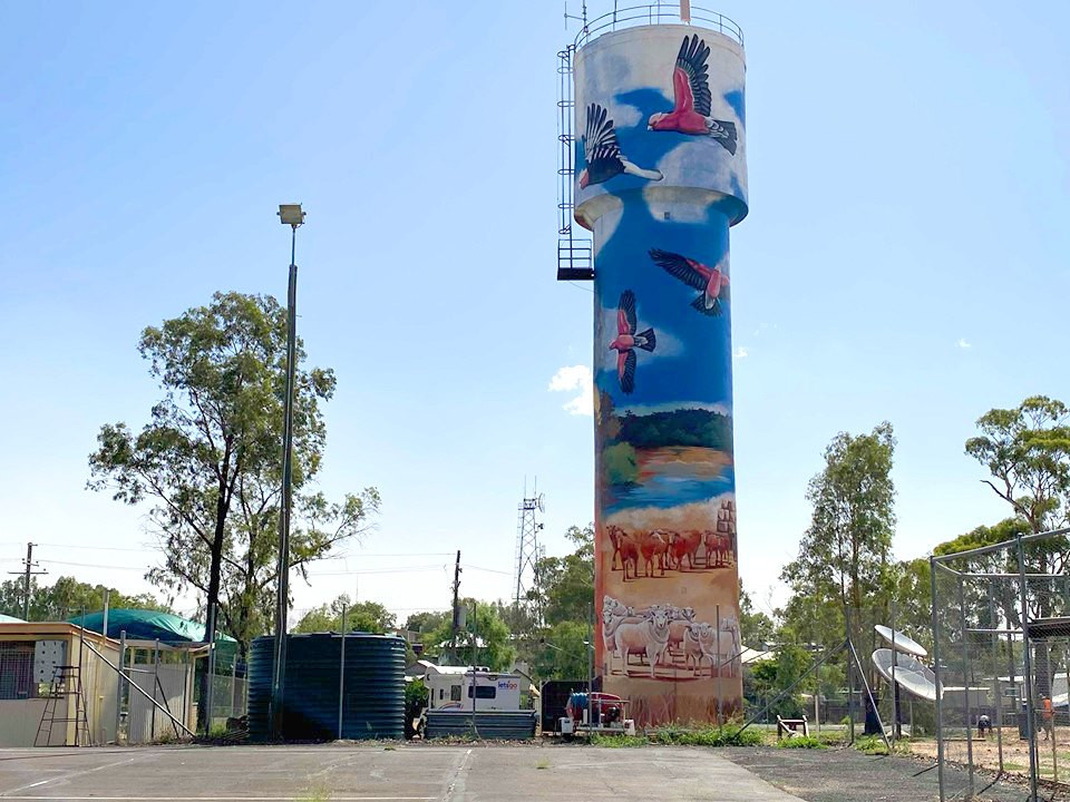 Augathella Water Tower - QLD, 2020