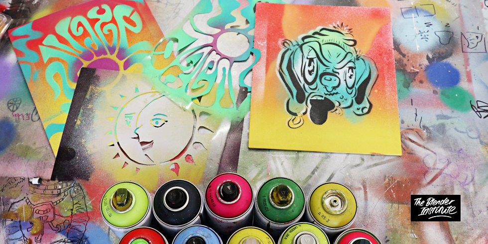 Stencil Art Workshop