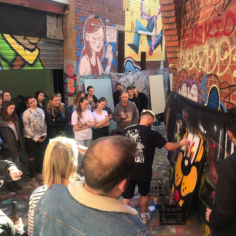 Live Painting & Team Building