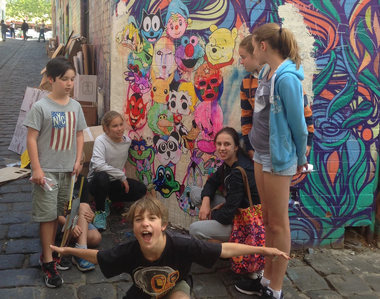 Kids Street Art Mentoring