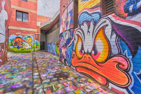 Blender Studios Exterior from Maloney Lane