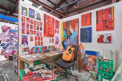 Blender Studios Interior, Tim Coleman's Studio