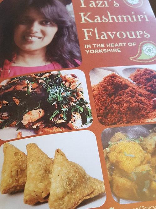 Yazi's Kashmiri Flavours Recipe booklet
