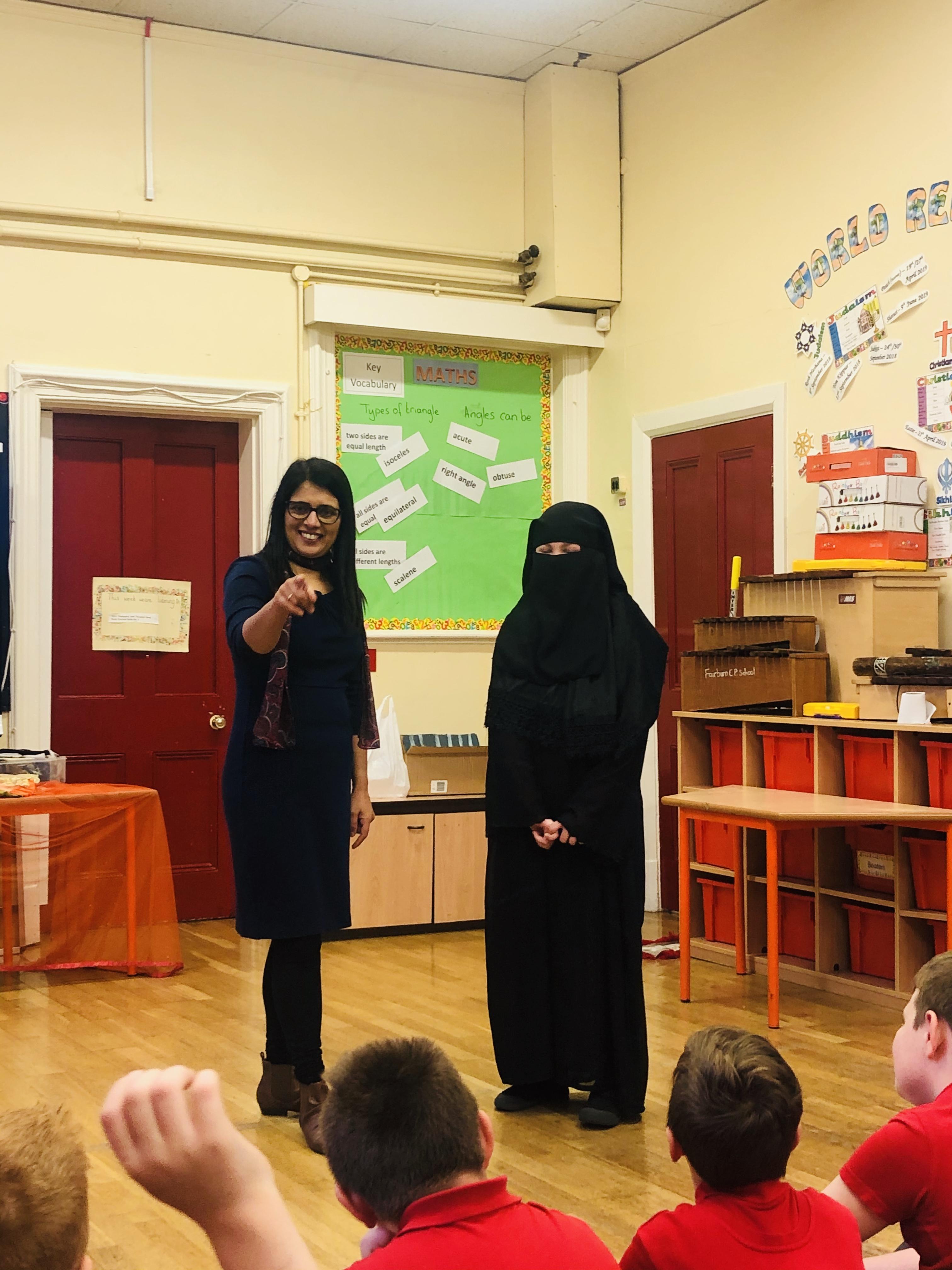 Niqaab Muslim dress