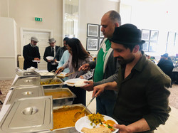 Bollywood film catering
