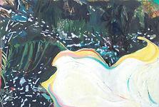 Carsten Dahl , oliemaleri, Jungleflower