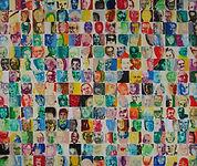 Carsten Dahl, maleri, portrætmosaik