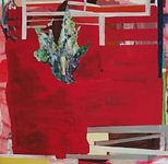 Carsten Dahl, maleri, rød metamorforse