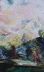 Carsten Dahl, maleri,  modlys