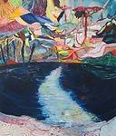 Carsten Dahl, maleri, nameless lake