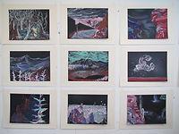 Carsten Dahl, 9 tegninger
