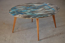 Carsten Dahl,seaweed, Artist table