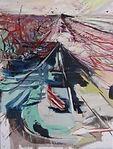 Carsten Dahl, maleri, to horisontlinier