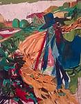 Carsten Dahl, maleri,ankomsten