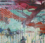 Carsten Dahl, maleri,  uden titel